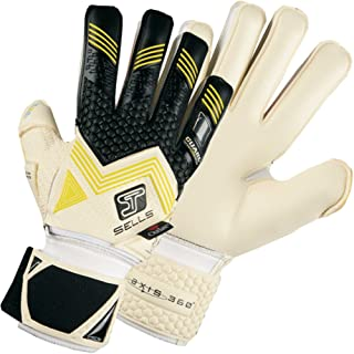 Sells AXIS 360 Elite Climate Guard Finger Protection Goalkeeper Gloves for Soccer
