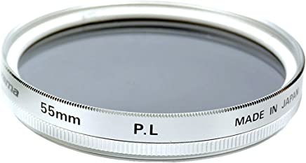 Fujiyama Silver 55mm Polarizing Filter for Canon EF-M 18-150mm F3.5-6.3 IS STM Made in Japan