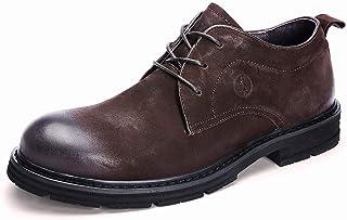 Chaussures Hommes artificiels Automne vêtements for Grandes Chaussures de Grande Taille Homme Chaussures Hommes (Color : B...