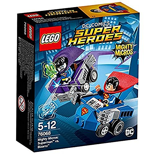 LEGO- Super Heroes Mighty Micros Superman conBizarro, 76068