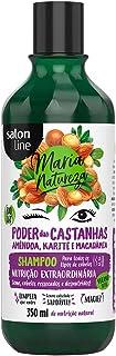 Shampoo Uso Diário 350ml Maria Natureza Poder das Castanhas Unit, Salon Line