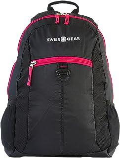 "Swissgear Student Laptop Backpack Comfort Fit 15"" Pink & Black"