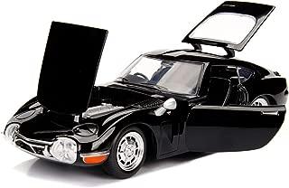 Jada 1967 Toyota 2000GT Coupe Black JDM Tuners 1/24 Diecast Model Car