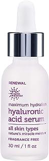 EARTH SCIENCE - Maximum Hydration Hyaluronic Acid Serum for Moisturizing & Anti-Aging (1 oz.)