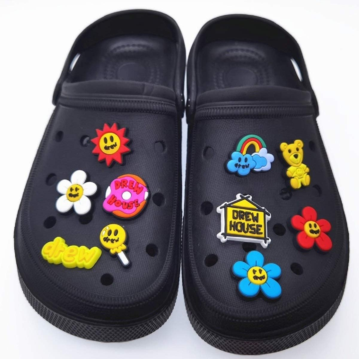 Max 65% OFF 10 PCS Shoe Charms 2020 Drew Croc Designs Charm Shoes for Sales House