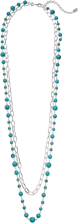 Turquoise 2-in-1 Strand Necklace