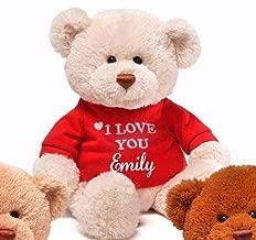 Personalized I Love You Teddy Bear - 12