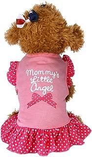 Big Promotion!!Farjing Summer Cute Pet Puppy Small Dog Cat Pet Dress Apparel Clothes Fly Sleeve Dress