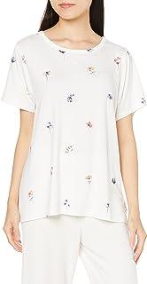 [ジェラート ピケ] ポッピンフラワー柄Tシャツ PWCT212219 レディース