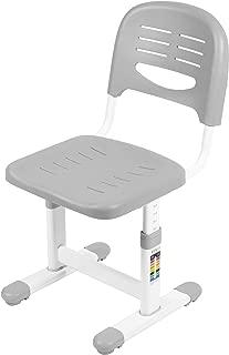 VIVO Gray Height Adjustable Kids Desk Chair (Chair Only) Designed for Interactive Workstation | Universal Children's Ergonomic Seat (DESK-V201G-CH)
