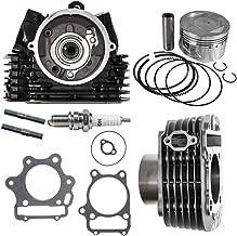 NICHE Cylinder Piston Gasket Head Kit For 1987-2014 Yamaha Raptor Wolverine 350 1UY-11110-02-00 1YW-11101-01-00