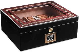 LBLMSB Cigar Humidors, Humidors, Skylight Cigar Humidors Latest Styles (Color : Red)