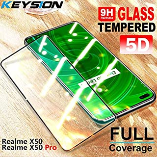 دياسو - واقيات شاشة الهاتف - زجاج مقسى لـ Realme X50 Pro 6 Pro C3 غطاء حماية كامل للشاشة لهواتف OPPO Find X2 Pro A9 A5 202...