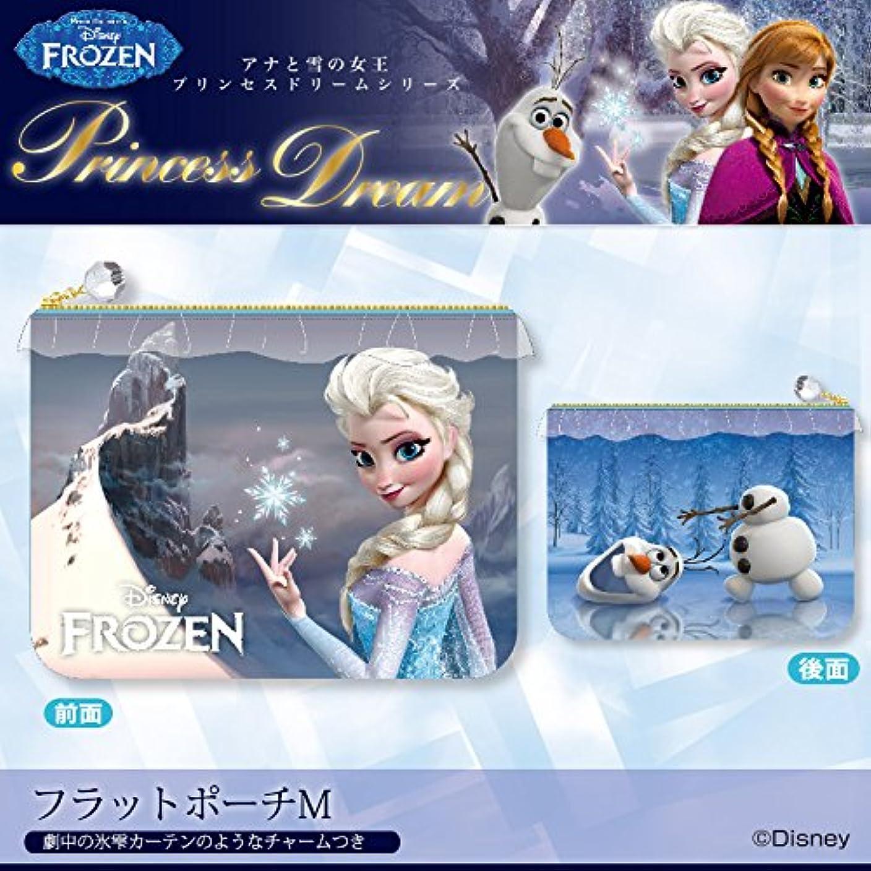 どっちでも監督する滑り台[ディズニー]  プリンセスドリームシリーズ/フラットポーチM [Frozen -アナと雪の女王-]