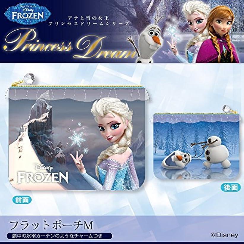 びっくりした勧める拳[ディズニー]  プリンセスドリームシリーズ/フラットポーチM [Frozen -アナと雪の女王-]
