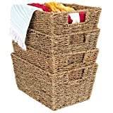 Best Choice Products 4 Seagrass Baskets