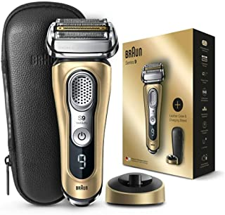 Braun 9399s Series 9 Men's Electric Foil Shaver - Gold Edition (Pack of 1)