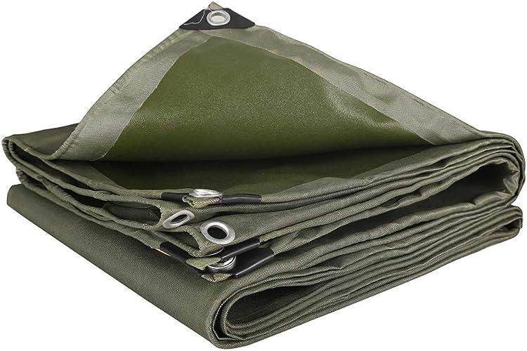 HongTeng Larme imperméable extérieure de Prougeection Solaire de bache imperméable résistante pour des couvertures de remorques de Bateaux de Camping de Jardin (Taille   3x5m)
