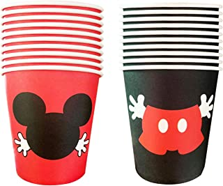20pcs 9OZ Mouse Birthday cups Mouse Birthday Party Decoration Mouse Party Supplies Decor