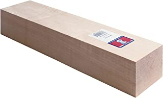Midwest Products 4421 Micro-Cut Quality Basswood Block, 2 by 3 by 12-Inch