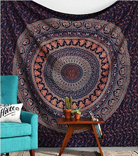 Surtrout Tapiz Hippie Mandala Elefante 148X300Cm