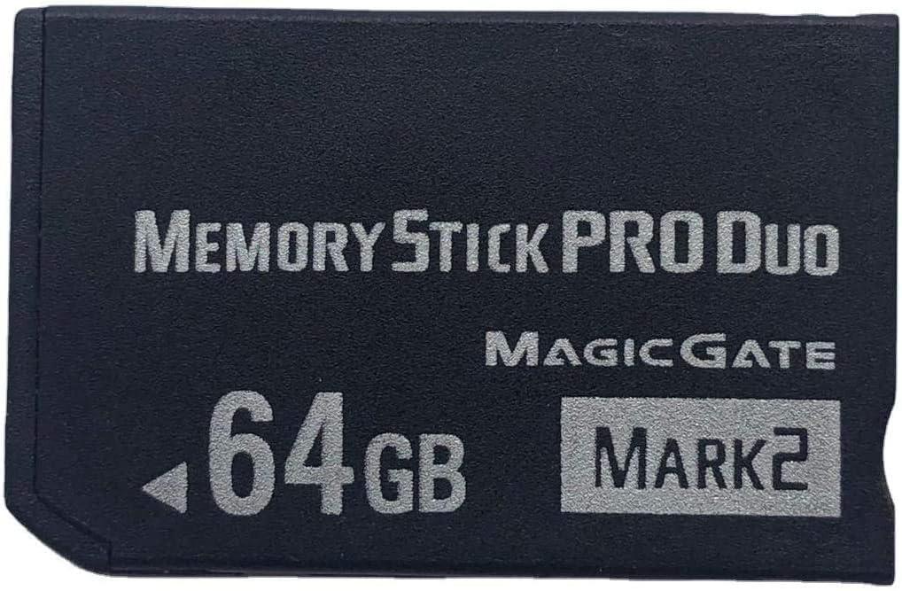 JUZHUO Original 64GB High Speed Memory Stick Pro Duo(Mark2) PSP Accessories/Camera Memory Card.