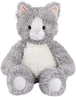 Vermont Teddy Bear Stuffed Kitten - Oh So Soft Kitty Cat Stuffed Animal, Plush Toy, Gray, 18 Inch