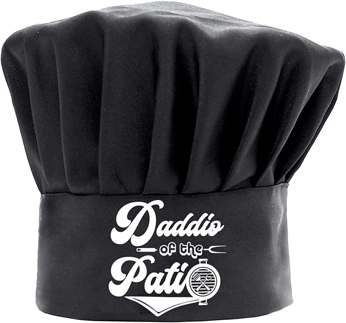 Chef Hats for Brand new Men Father Funny service The of Black Cookin Daddio Patio