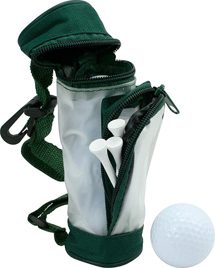 Mini Golf Bag Holds 3 Golf Balls (Pack of 4)