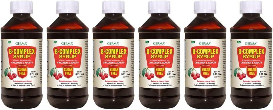 Germa B-Complex Syrup. Dietary Supplement. Growth a San Diego Mall Max 54% OFF Bone Health