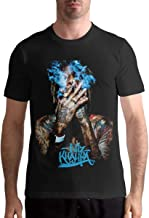 Quitelike Wiz Khalifa T Shirts Men's Tops Short Sleeved Round Neck Cotton tee Tops Camisetas Hombre