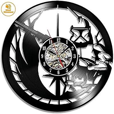SXFYZCY Hueco Vinilo Record Reloj Moda Creativa Pared ...