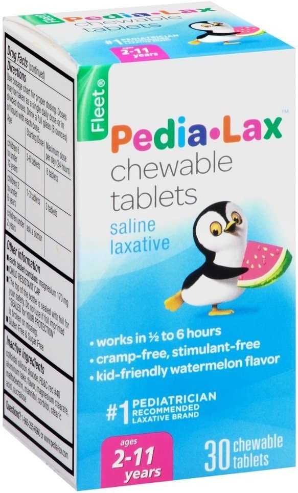 Pedia-Lax Children's Chewable Magnesium Albuquerque Mall Table Laxative Large special price !! Hydroxide