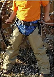 Snake Chaps for Kids - Youth Size Snake Chaps - Snake Bite Full Protection Chaps for Children - Crackshot