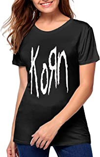 Korn Women Soft Breathable Youth Girls Tee