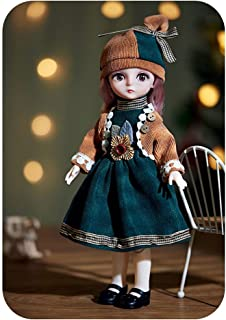 CENXIO Doll Play Sets Clothes Shoes Toys For Girls Children 5D Eyes Eyelashes Surprise Birthday Gift - 10#