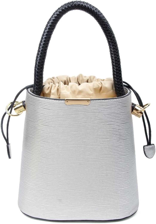 OBC stylische Damen Tasche Tasche Tasche Bucket Bag Hobo Handtasche Henkeltasche Boho rockig Silber B01NB0K9KP  Heißer Verkauf a1c822