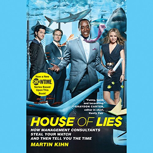 House of Lies audiobook cover art