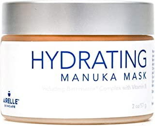 Anti-Aging Hydrating Manuka Honey Face Mask by Airelle | Rejuvenate and Soothe Dry Skin | Helps Improve Wrinkles, Uneven Skin Tone | Dermatologist Recommended | Natural Ingredients | 2 Ounce