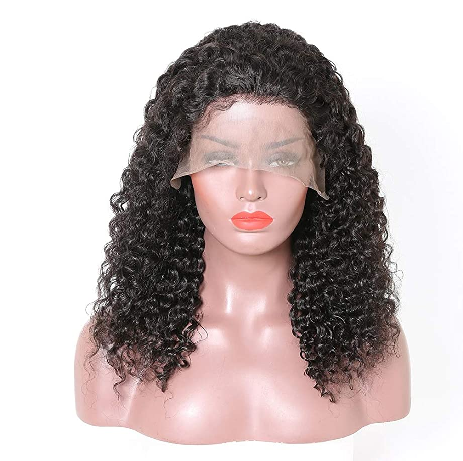デイジー香港予知女性360レース前頭かつら人間の髪の毛ブラジル髪かつら水の波カーリー人間の髪の毛のかつら