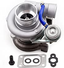GOWE turbocharger for GT2870 GT28 GT2871 compressor housing AR 60 turbine a/r .64 T25 flange Oil Cooled 5 bolt with actuator Turbocharger turbo