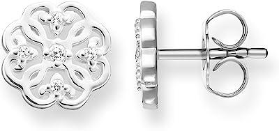 Thomas Sabo Pendientes de botón Mujer plata - H1881-051-14