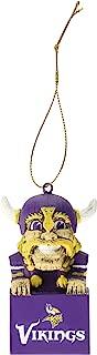 Team Sports America 3OT3817MAS Minnesota Vikings Mascot Ornament