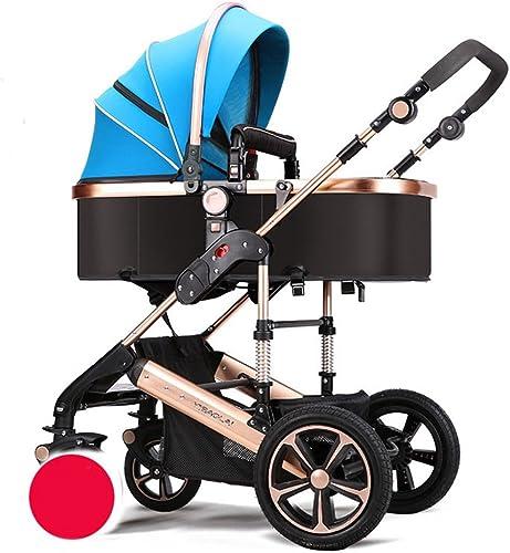ventas directas de fábrica XUERUI Sillita De Bebé Carrito De Bebé Cómoda Cómoda Cómoda Comodidad Hermosa Comodidad De Seguridad 3 Colors Tienda (Color   azul)  más descuento