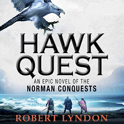 Hawk Quest audiobook cover art