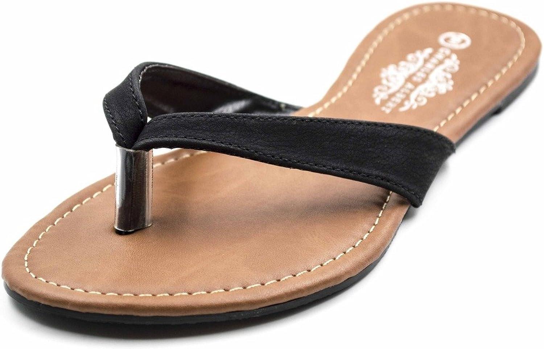 Charles Albert Women's Basic Thong Flip Flop Sandal