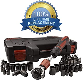 Craftsman 53-piece Mach Series Tool Set, Includes Both SAE and Metric Sockets, Driver Bits and the Reversible Helix Push Shaft Ratchet - Backed By Our Lifetime Replacement Guarantee!!!