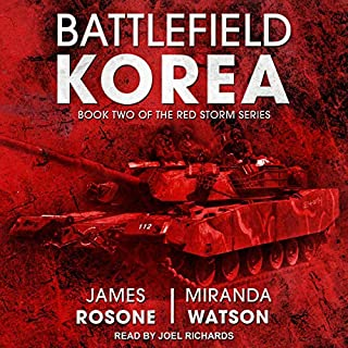 Battlefield Korea audiobook cover art