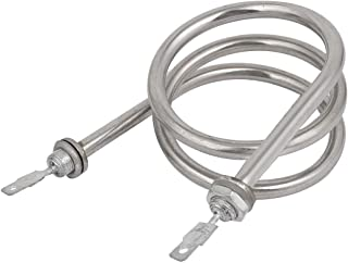 Aexit 240V1500W (Electrical equipment) Round Shaped Electric Heating Tube Element Booster (24ry429qf201) Water Heater