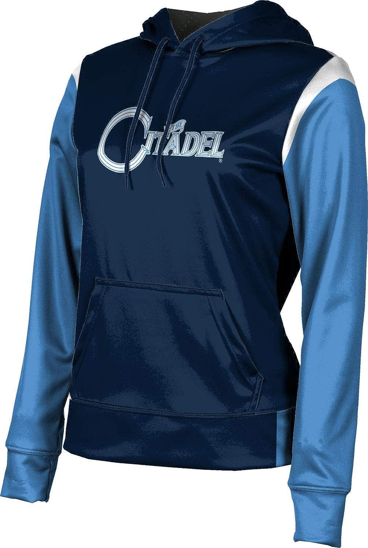 ProSphere The Citadel College Girls' Pullover Hoodie, School Spirit Sweatshirt (Tailgate)